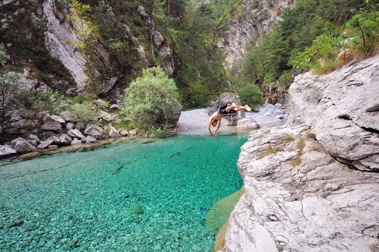 Dove fare il bagno nei fiumi wild about italy - Dove fare il bagno a como ...