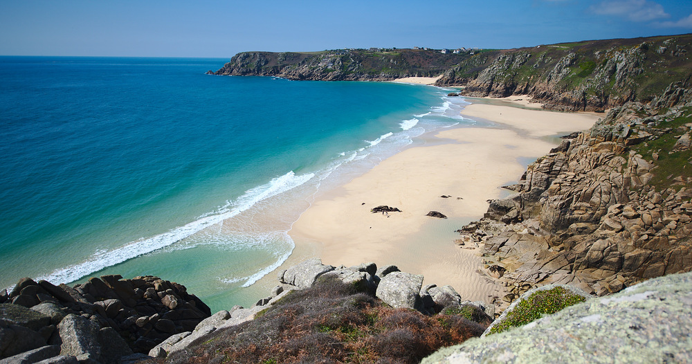 A beautiful Cornwall beach