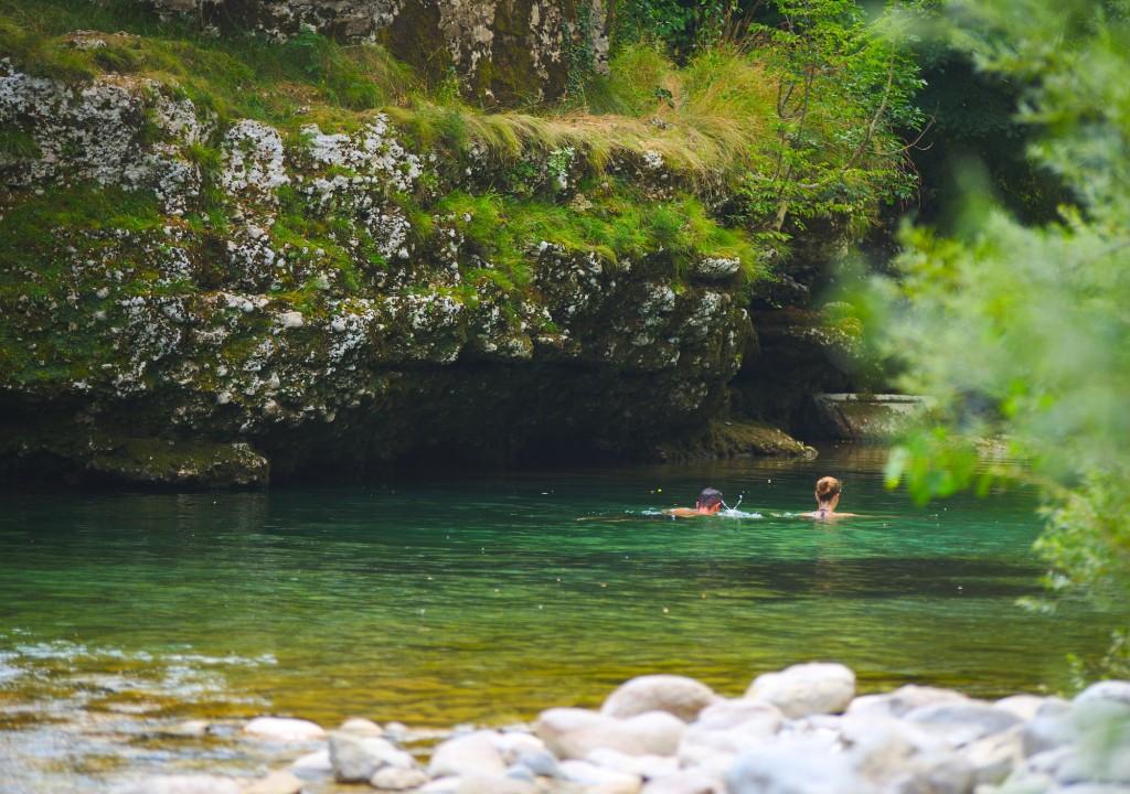 Un bagno sul natisone, Cividale del Friuli