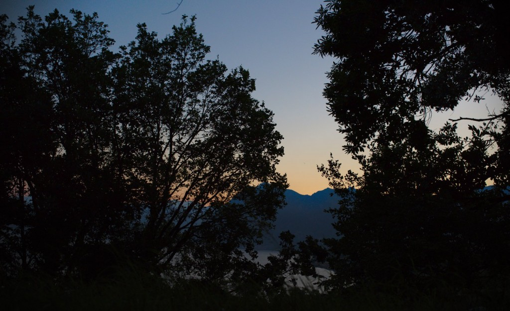 Sunrise from Monte Isola