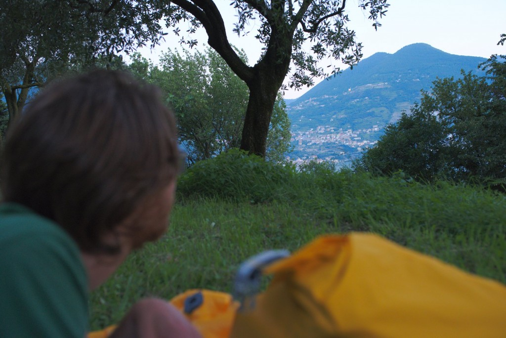 Camping in Monte Isola
